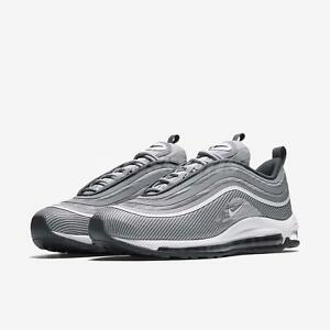 Details about NIKE AIR MAX 97 UL '17 WOLF GREY WHITE DARK GREY SZ 8.5 [918356 007]