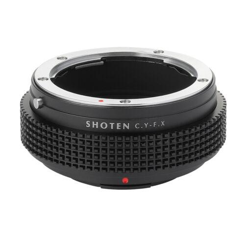 Shoten Lens Adapter Ring for Contax Yashica CY to Fuji X X-T3 X-Pro2 X-A2 camera