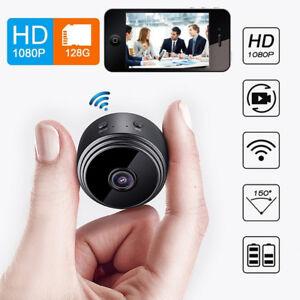 Camara-De-Seguridad-Mini-Videocamara-Ip-Wifi-Inalambrico-1080P-Vision-Nocturna-DVR-De-Video-Digital