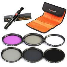 KF Concept 40.5mm UV CPL FLD ND2 ND4 ND8 Neutral Density Lens Filter Kit Samsung