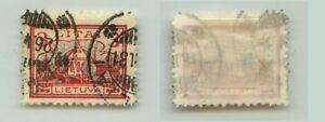 Lithuania 1923 SC 172 used . rta712