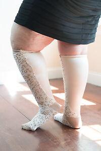 b12172e4cb Image is loading Xpandasox-Plus-Size-Lymphedema-Socks-24-inches-at-