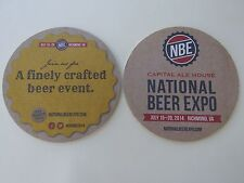 Beer Coaster ~*~ CAPITAL ALE HOUSE 2014 National Beer Expo ~ Richmond, VIRGINIA