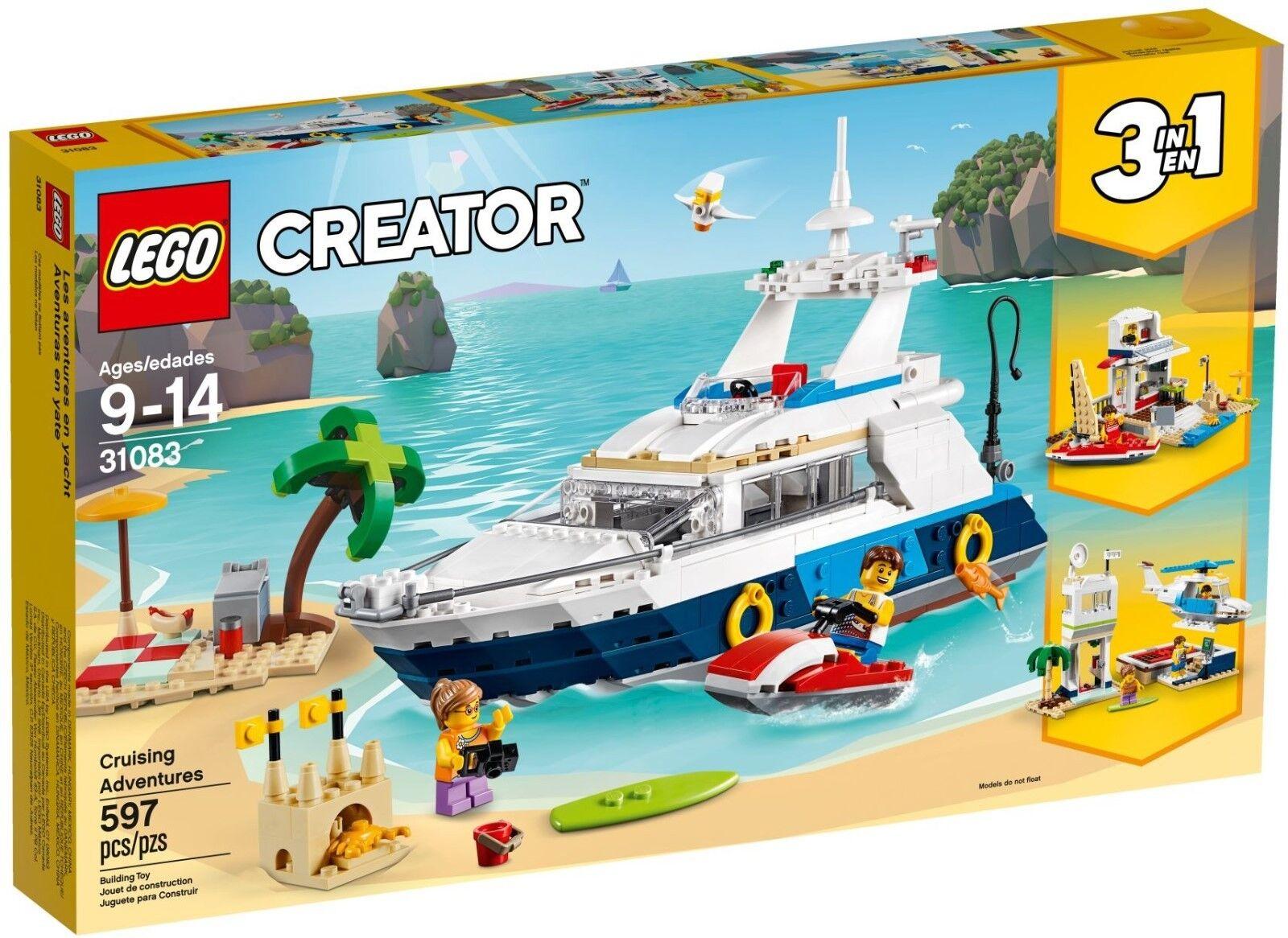 LEGO 31083 - Abenteuer auf der Yacht
