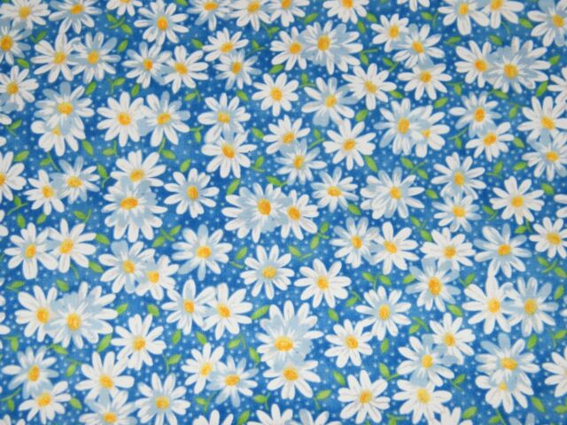 NEW Daisy Kingdom Donna Dewberry Garden Party Fabric 100/% Cotton Sold By 1//2Yard