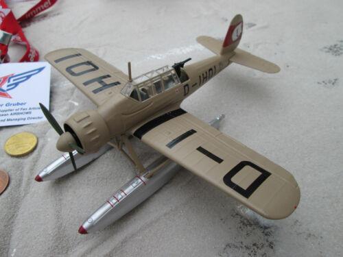 Arado 196 a-0 prototipo terminado modelo ww2 1939 1:72 metal//DIECAST yakair