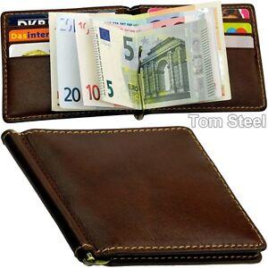 PICARD-Geldclip-Geldboerse-Moneyclip-Geldbeutel-Klammer-Portemonnaie-Brieftasche