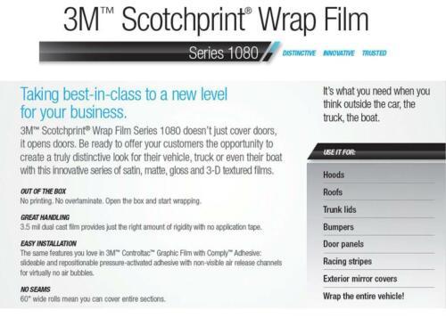 3M 1080 M229 MATTE COPPER METALLIC Vinyl Vehicle Car Wrap Decal Film Sheet Roll