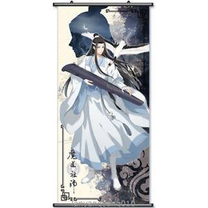 Grandmaster of Demonic Cultivation Lan Wang Ji Anime Wall Scroll Poster 60x130