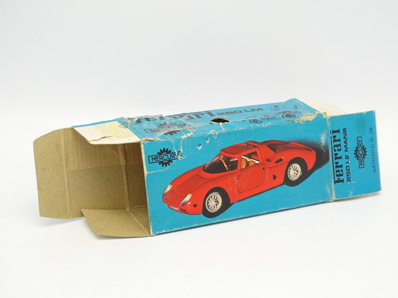 Mercury 1 43 - Schachtel Leere Ferrari 250 Le Mans