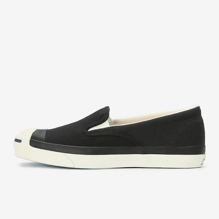 CONVERSE JACK PURCELL RET SLIP-ON Black Limited Japan Exclusive