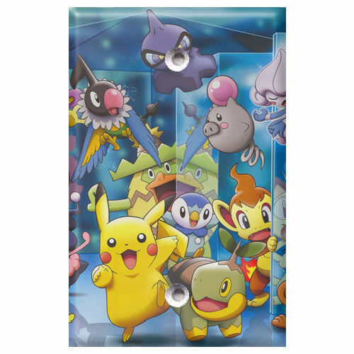 Pokemon 1 Light Switch Covers Home Decor Outlet