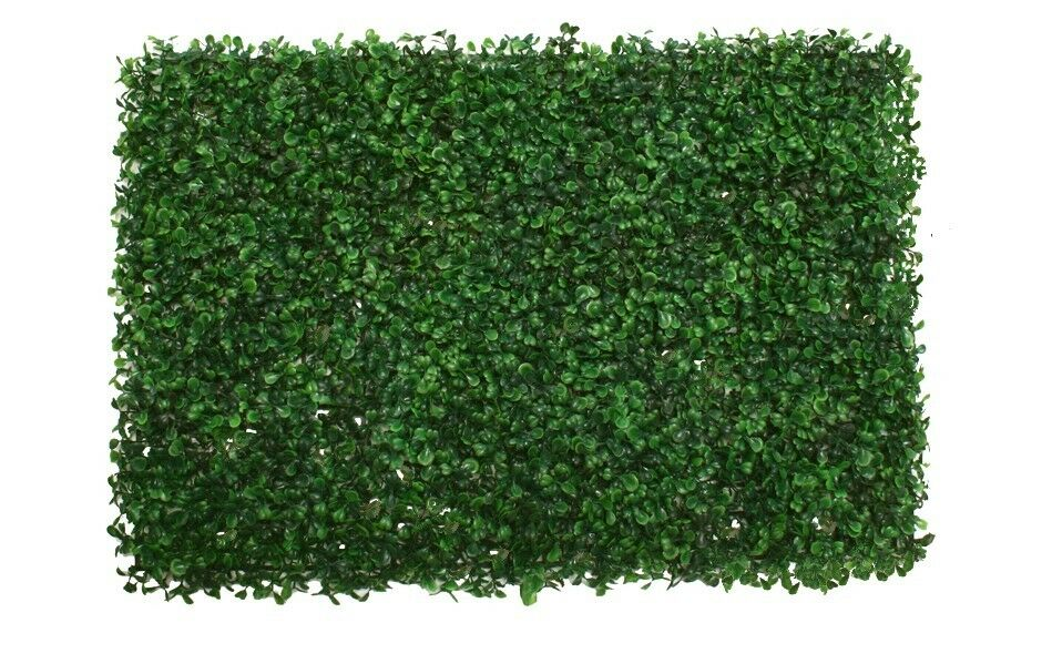 6 Artificial Boxwood Mat In Outdoor Grass Hedge Hedge Hedge Wall Patio Fence Gate Plant 9106 e459ad