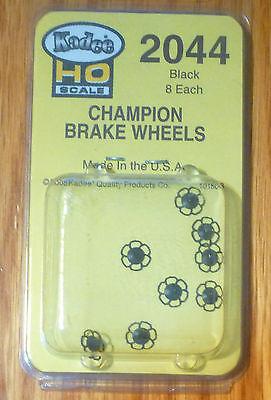 Kadee #2044 Champion (Black)  Brake Wheels (8)