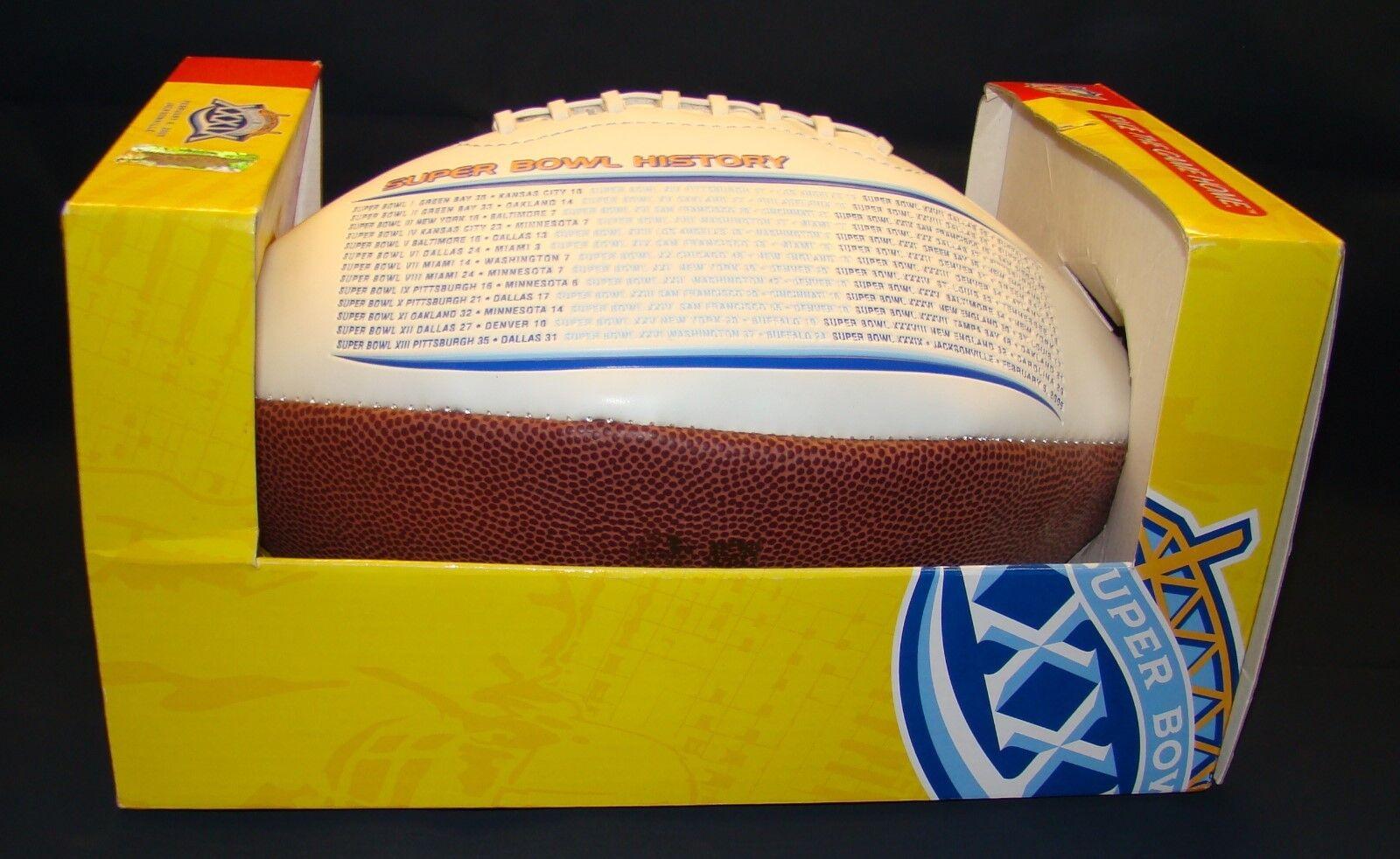 2005 NFL Limited Edition Commemorative Football Football Football SUPER BOWL XXXIX Ball NEW bb7404