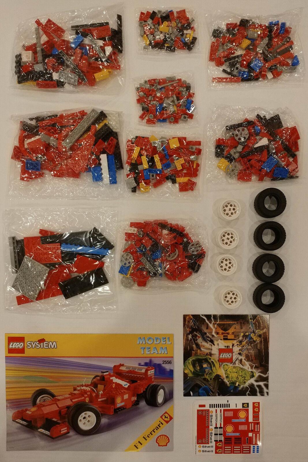 LEGO modellllerlerl Team Set 256 Ferrari Formel 1 tävlings bil Race Shell F1 - Ny ruta