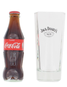 Jack Daniel/'s Old No.7 Tall Glass Whisky Jack and Coca Cola X2 2 New Pair Of