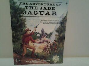 Adventures Of The Jade Jaguar Livre Pour Utiliser Avec La Marchandise Espions & Private Eye-afficher Le Titre D'origine Gagner Une Grande Admiration