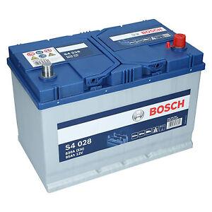pkw autobatterie 12 volt 95 ah bosch s4 028 starterbatterie ersetzt 90ah 100ah ebay. Black Bedroom Furniture Sets. Home Design Ideas