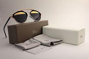 cad7150fb3f30 Dior So Real Sunglasses Men Women Gold Black Silver Blue Pink ...