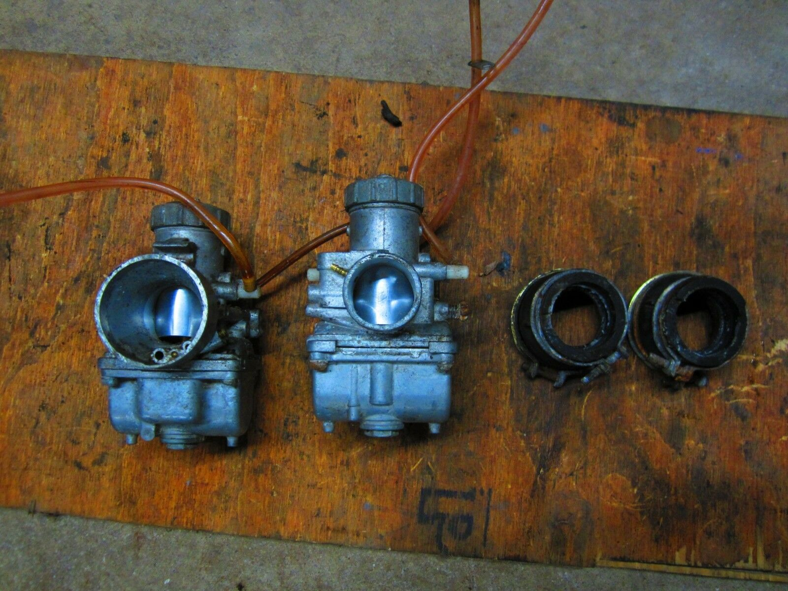 1994 SKI DOO FORMULA MX 470 CARBURETORS W FLANGE 57003940,403116600