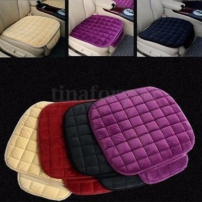 Universal Grid Cotton Cushions Seat Pad Auto Breathable Comfort Car Seat Covers