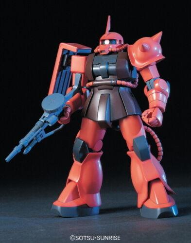 MS-06S Zaku II Char GUNPLA HGUC High Grade Gundam 1//144 BANDAI