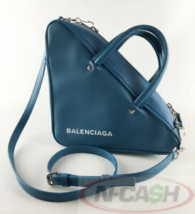 BIGSALE-AUTHENTIC-2085-BALENCIAGA-Small-Triangle-Duffle-S-Bag