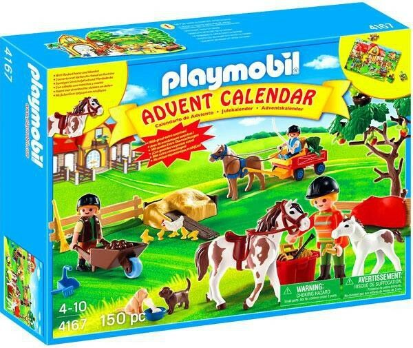 Playmobil Advent Calendar Pony Farm Set