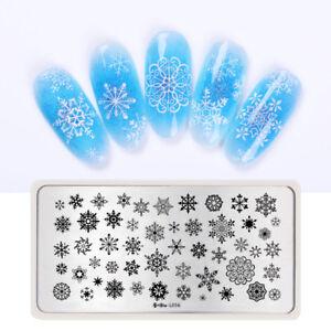 Harunouta-Nail-Stamping-Plate-Christmas-Series-Nail-Art-Stamp-Image-Plates-DIY