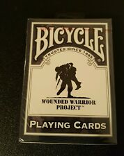 1 sealed deck--Bicycle Wounded Warrior Project Playing Cards