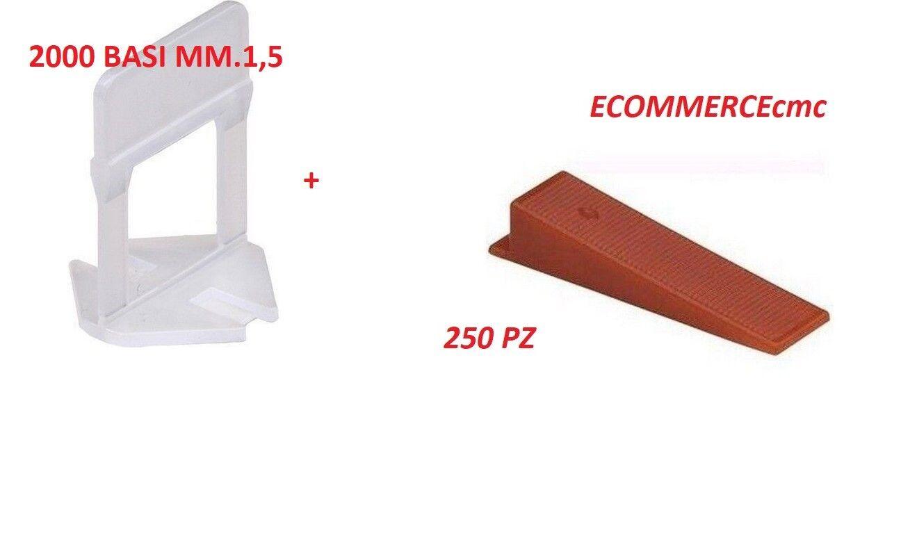 BASE RLS RAIMONDI LEVELLING SYSTEM BASETTA RLS 2000 Pezzi MM1,5+250 CUNEI