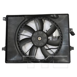 Dual Radiator /& Condenser Cooling Fan Assembly for 17-18 Kia Forte Sedan