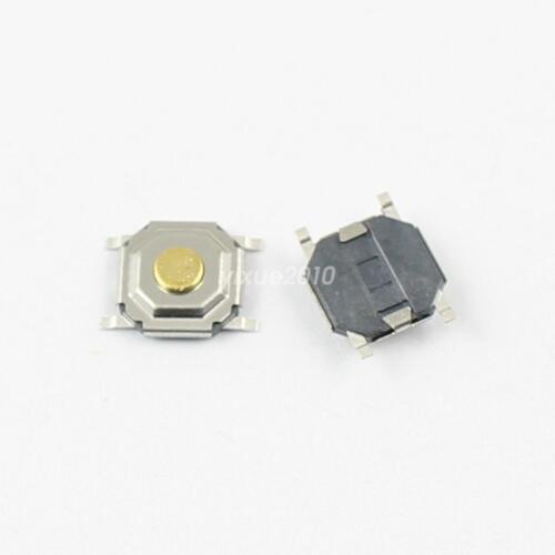 50Pcs el Tacto Momentáneo Táctil Botón Interruptor 4 Pin SMT SMD 5.2x5.2x1.5mm