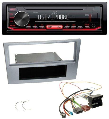 JVC 1din aux USB mp3 radio del coche para Opel Astra H Zafira B Corsa D a partir de 2005 Matt-CH