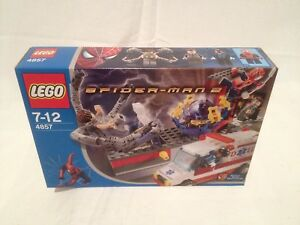 Lego Spider-man 4857 Doc Ock's Fusion Labo Neuf 1 Édition