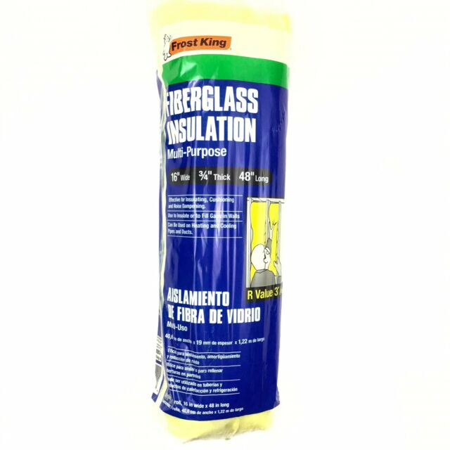 Frost King Fiberglass Insulation Utility Roll 16 X 3 4