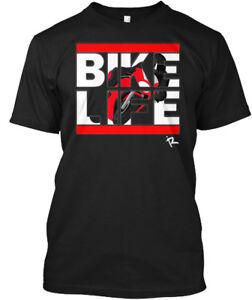 Bikelife-Red-Bike-Life-Hanes-Tagless-Tee-T-Shirt