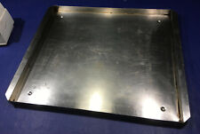 Stainless Steel Square Pan Tray 2575 X 215 X 15 Commercial Rectangle