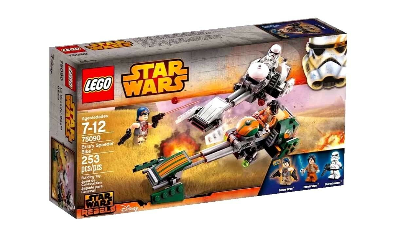 Lego Estrella wars_75090_ezra de Speeder bike_brand Nuevo Sellado En Caja