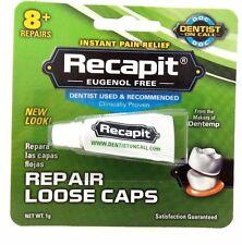 Dentemp Recapit Repair Loose Caps 1g - New Item