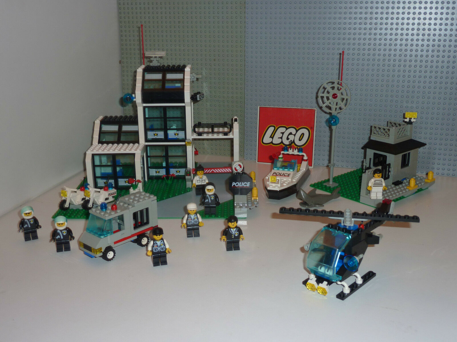 RARE Set légo city 6598 METRO PD STATION complet