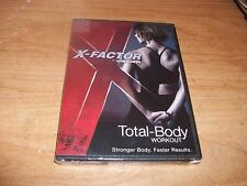 (3) X Factor Total Body Workout Explosion Abs by Weider (DVDs 2009) Fitness NEW