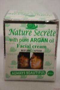 Nature Secrete Argan Cream Face