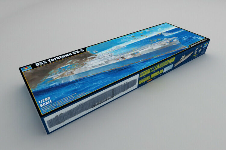 Trompetter 1 200 03711 USS YORKTOWN CV-5 Ship model kit