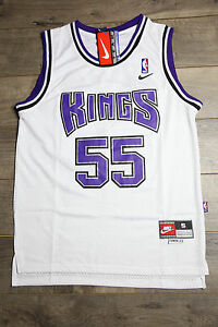 huge discount 16686 f0f5d Details about Jason Williams #55 Sacramento Kings Jersey Throwback Vintage  Classic Retro White