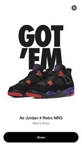 Nike Air Jordan 4 Retro Raptors Drake