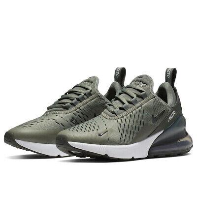 Juniors Nike Air Max 270 GS Khaki Black Trainers Shoes 943345 301 UK 4_5.5   eBay