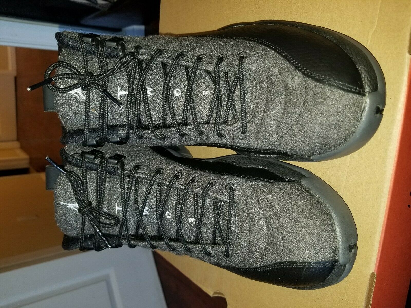 Nike Air Jordan 12 Retro Wool (852627-003) Men's shoes Size 10.5