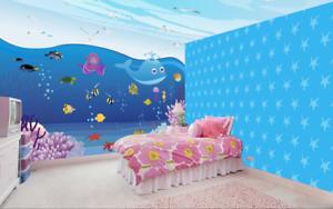 3D Cute Animals Sea 87 Wall Paper Murals Wall Print Wall Wallpaper Mural AU Kyra